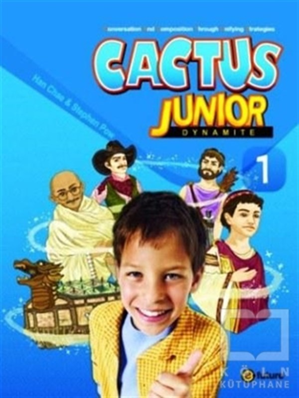 Cactus Junior 1: Dynamite With Workbook +CD