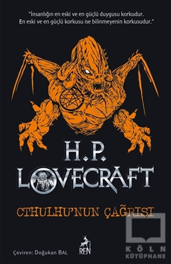 Howard Phillips LovecraftKorku-GerilimCthulhu'nun Çağrısı