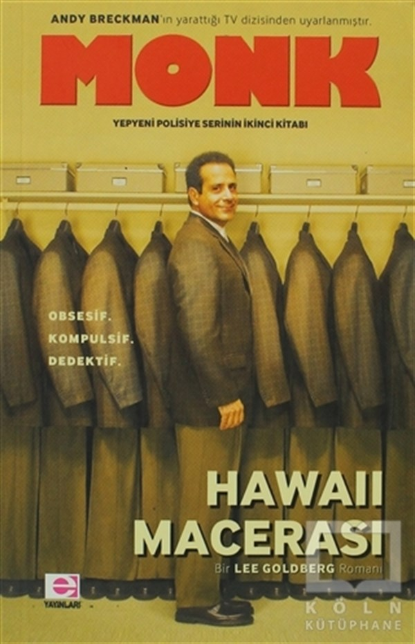 Lee GoldbergRomanMonk - Hawaii Macerası