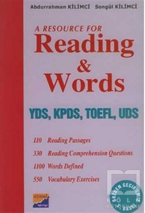 Abdurrahman KilimciAkademikA Resource For Reading and Words YDS, KPDS, TOEFL, UDS