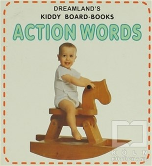 Action Words Kiddy Board-Books
