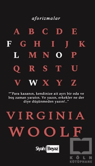 Aforizmalar - Virginia Woolf