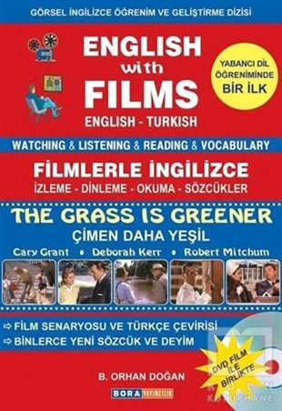 English with Films The Grass is Greener (Dvd Film ile Birlikte)