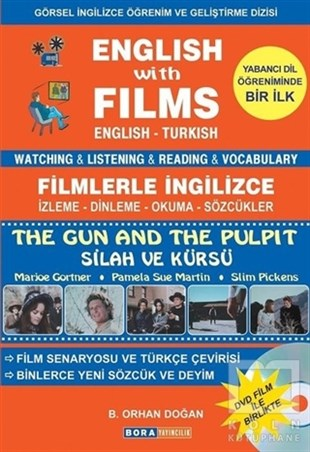 English with Films The Gun and The Pulpit (Dvd Film ile Birlikte)