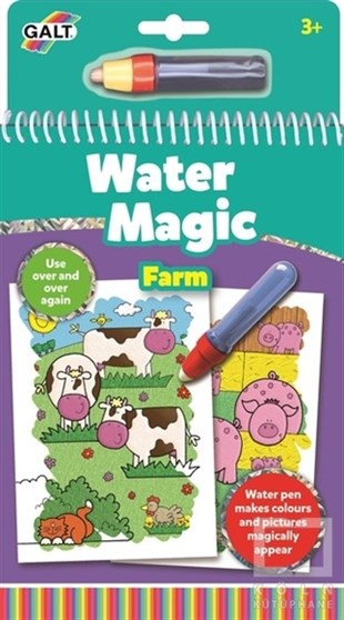 Galt Water Magic Sihirli Kitap Çiftlik 3 Yaş+ 1003163