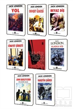 Jack London Klasikleri 8 Kitap Set 2