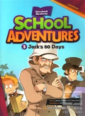 Jack's 80 Days +CD (School Adventures 2)