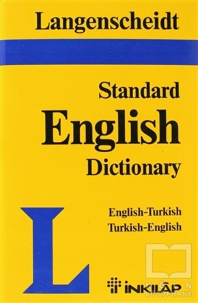 Resuhi AkdikmenReferans - Kaynak KitapLangenscheid Standard English Dictionary English-Turkish Turkish-English