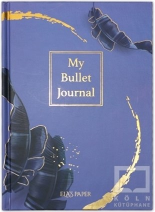 My Bullet Journal Defter (Tropikal Mor)