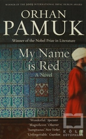 Orhan PamukRomanMy Name is Red