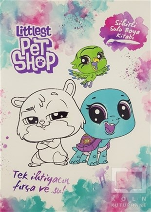 Sihirli Sulu Boya Kitabı - Littlest Pet Shop