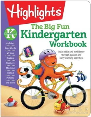 KolektifBoyama KitaplarıThe Big Fun Kindergarten Activity Book