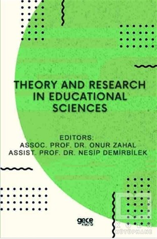 Onur ZahalYabancı Dilde KitaplarTheory and Research in Educational Sciences