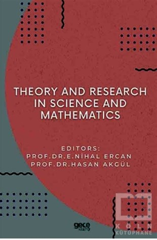 Hasan AkgülYabancı Dilde KitaplarTheory and Research in Science and Mathematics